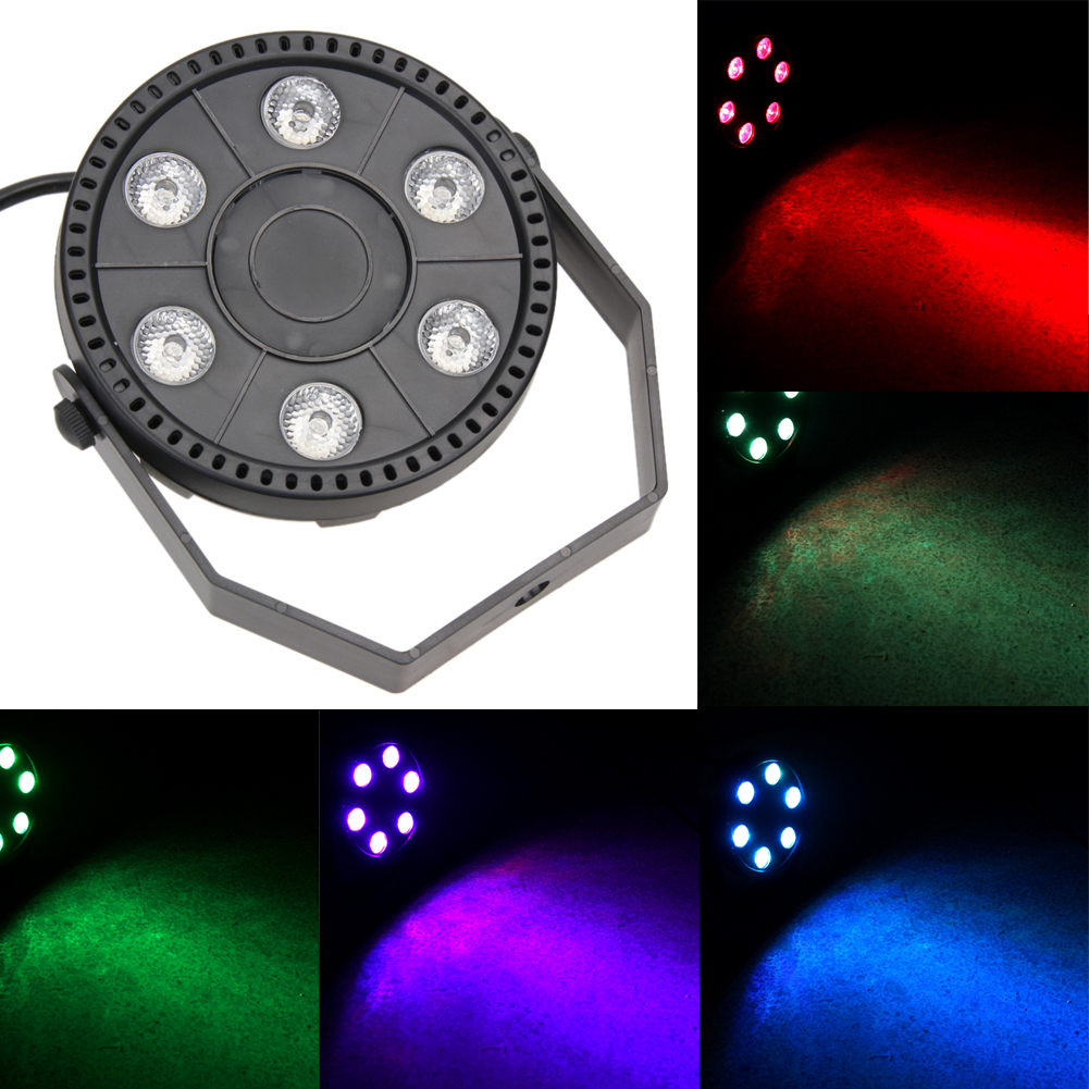 Colouful 6 LED Stage Laser Projector Lighting LED Stage Lamp Waterproof Party Disco DJ Club Music Bar Light Laser Light Lights