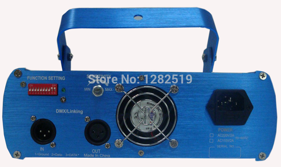 1500mW blue dj laser  DMX light blue color
