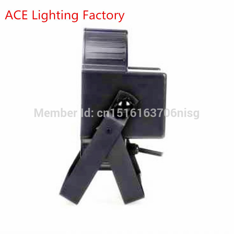 Fast Shipping Black LED Par Can 64 LED Par64 LED Tri 7 RGB 7x 9W factory directly sale