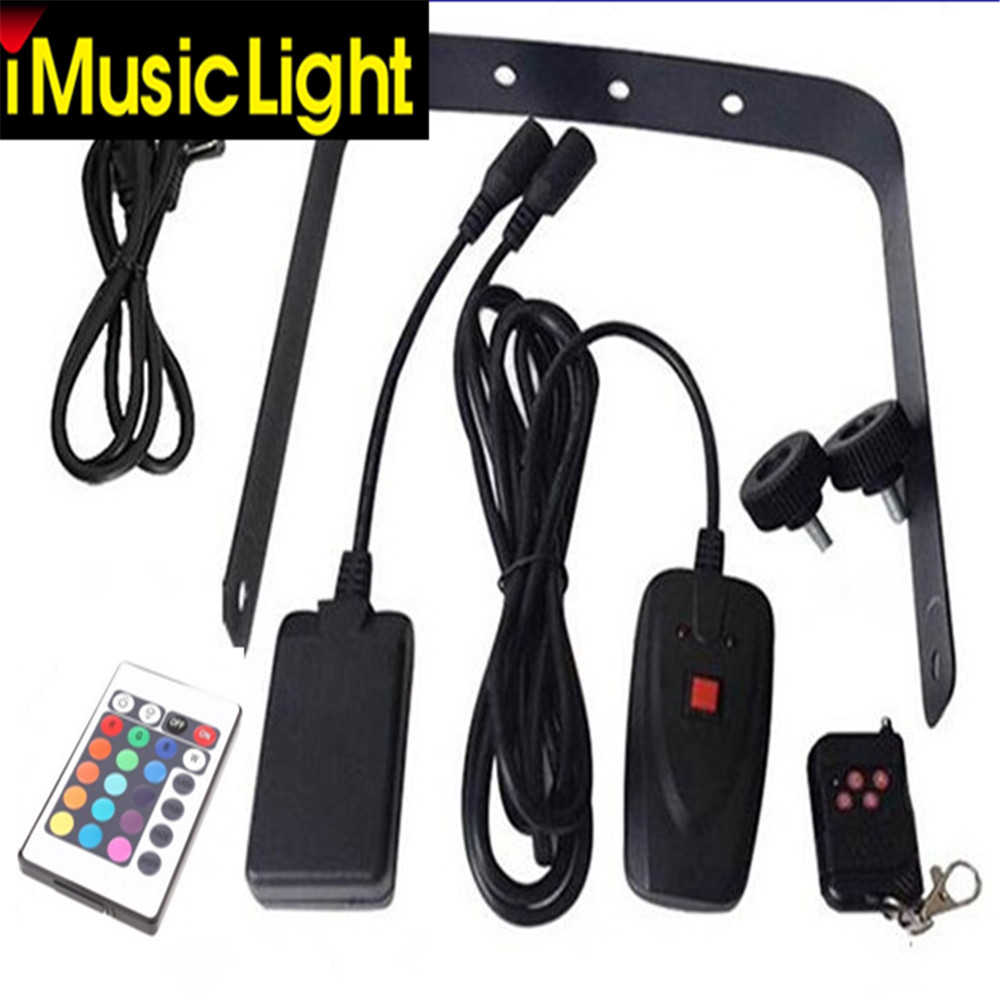 1500W/1000W RGB 3in1 (6pcs LED) Smoke Machine Remote or Wire Control  Stage Fog Machine