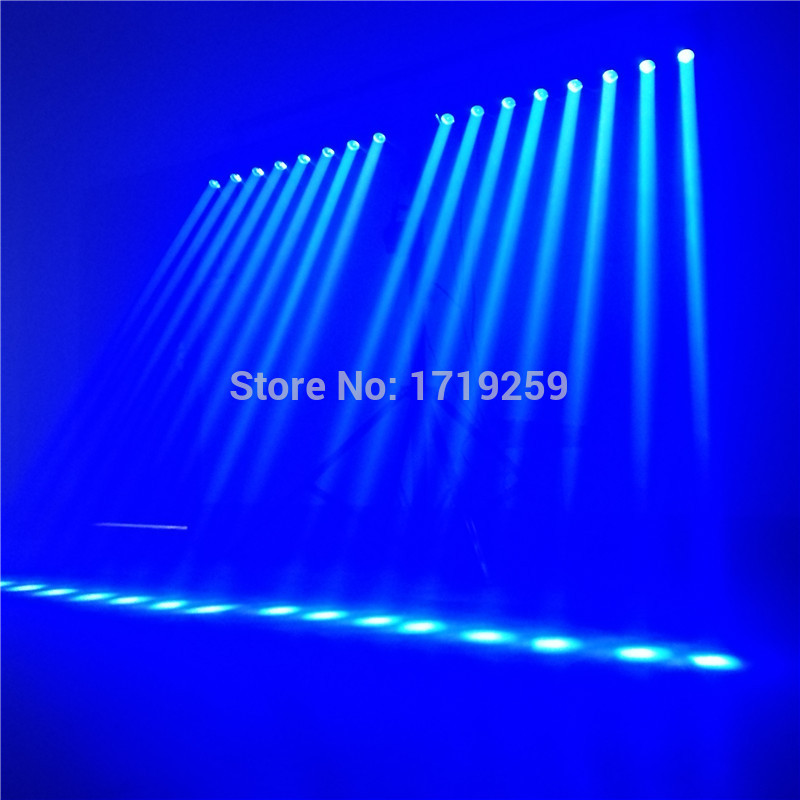 2pcs/lot LED Bar Beam Moving Head Light RGBW 8x12W Perfect for Mobile DJ, Party, nightclub