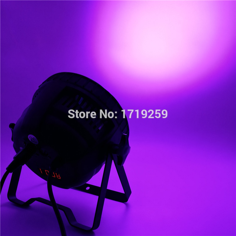 LED Par 18x15W RGBWA 5in1 LED Par Can Par led spotlight dj projector wash lighting stage uplight Aluminum alloy