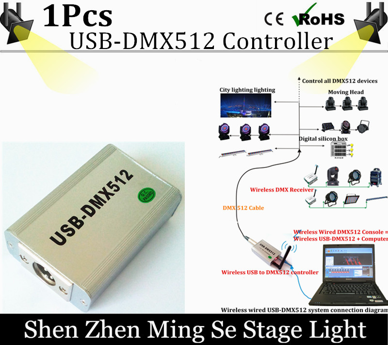 DHL shipping High Speed Wireless FreeStyler USB-DMX512