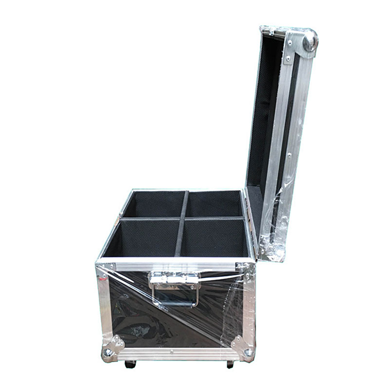 Flight Case with 2/4 pieces LED 60W Spots Light Mini DMX Stage Moving 9/11 Channels DJ 8 Gobos effect Stage Lights