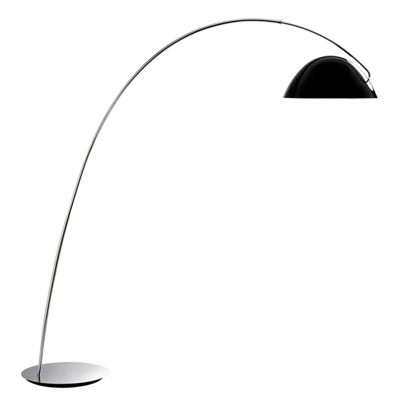 Modern Floor Lamp Stainless steel black color palting lampshade floor lamp Living Room reading bedroom office standing lamp