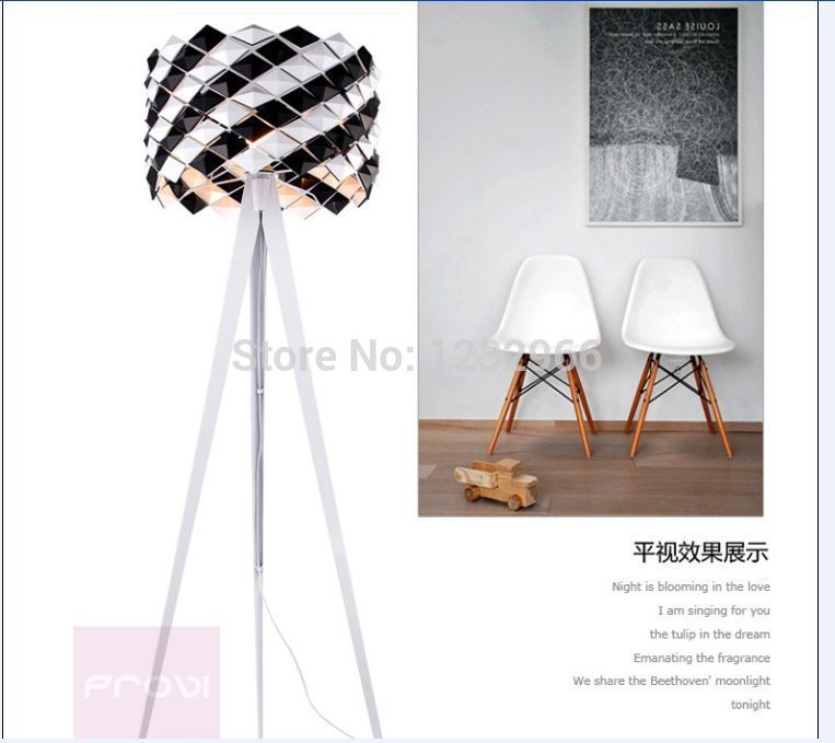 Modern Floor Lamps for Living Room Bed Room Puzzle lamp Bedside Light Crystal Floor Light IQ Novelty Fashing Floor Lamp