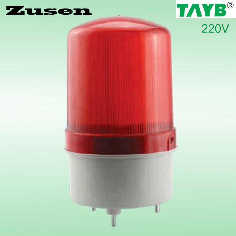 220v  TB1101J Alarm  rolling Signal Warn Warning Siren RED LED Lamp with buzzer