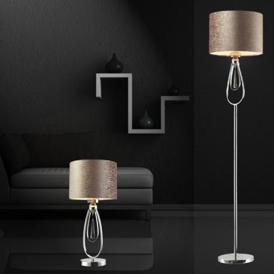 152CM Modern minimalist iron K9 crystal floor lamp living room bedroom study bedside lamp fashion lighting