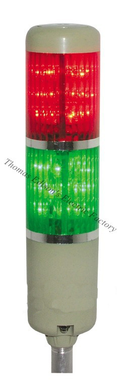 Safety Stack Lamp Red Green Yellow LED Flash Industrial Tower Signal Light LTA-205 Red and green