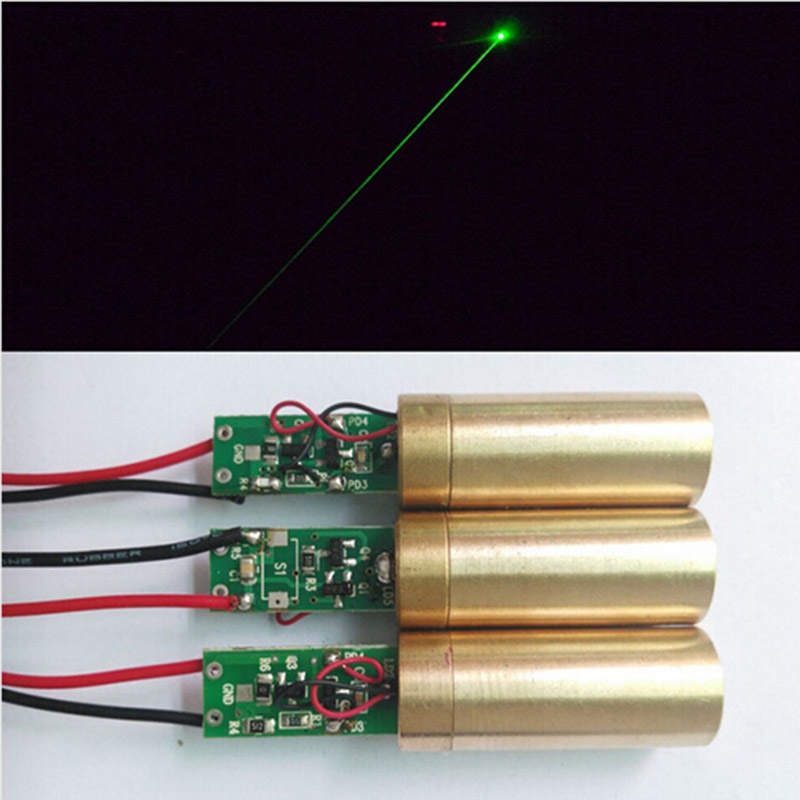 Industrial laboratory APC 3 v DC 532 nm 1mw green laser diode lazer diameter of 12 mm module
