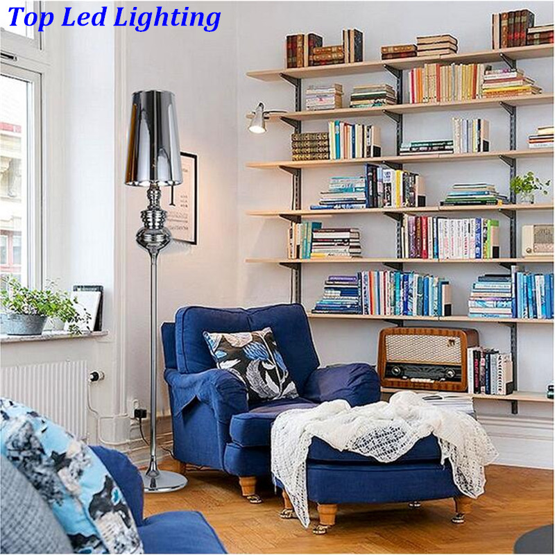 Minimalist Spanish Guards Guardian Floor Lamp for Bedroom Living Room Metal Fabric Led E27 Floor Lamp Abajurs de Chao 1194
