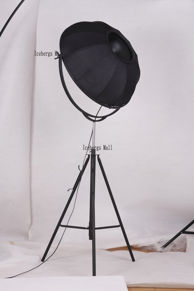 582dfcf322097 Fortuny Photography Floor Lamp Modern Satellite Studio Fabric ...