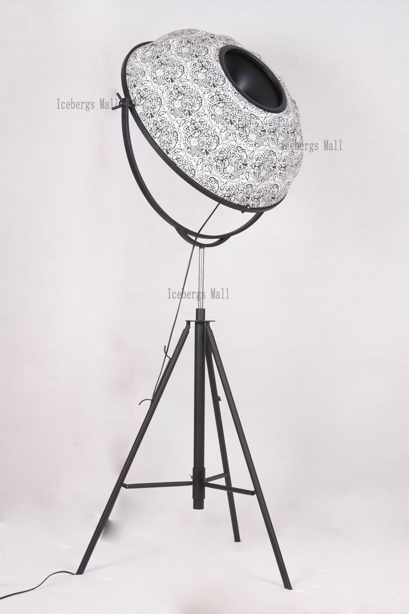 Fortuny Photography Floor Lamp Modern Satellite Studio Fabric Lampshade Floor Light Living Room Museum Hotel Home Lighting
