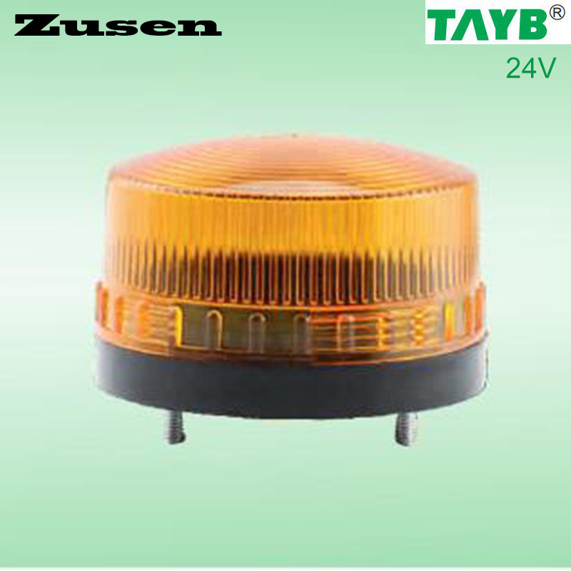 Zusen 3 Color TB35 24V yellow led Security Alarm Strobe Signal Warning Light LED Lamp small Flashing Light