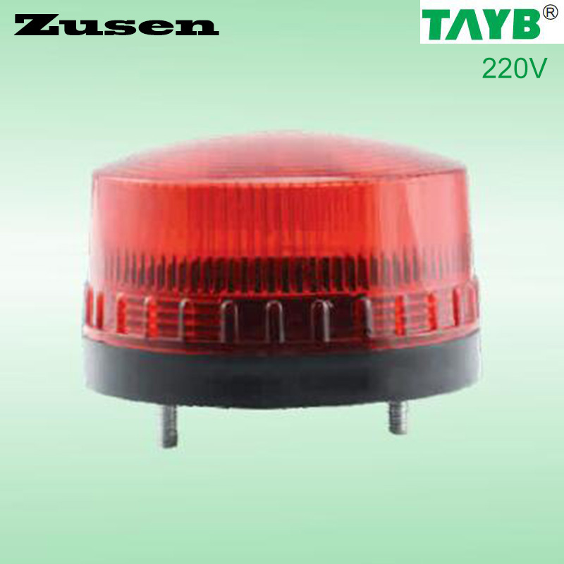 Zusen 3 Color of red led TB35 220V  Security Alarm Strobe Signal Warning Light LED Lamp small Flashing Light