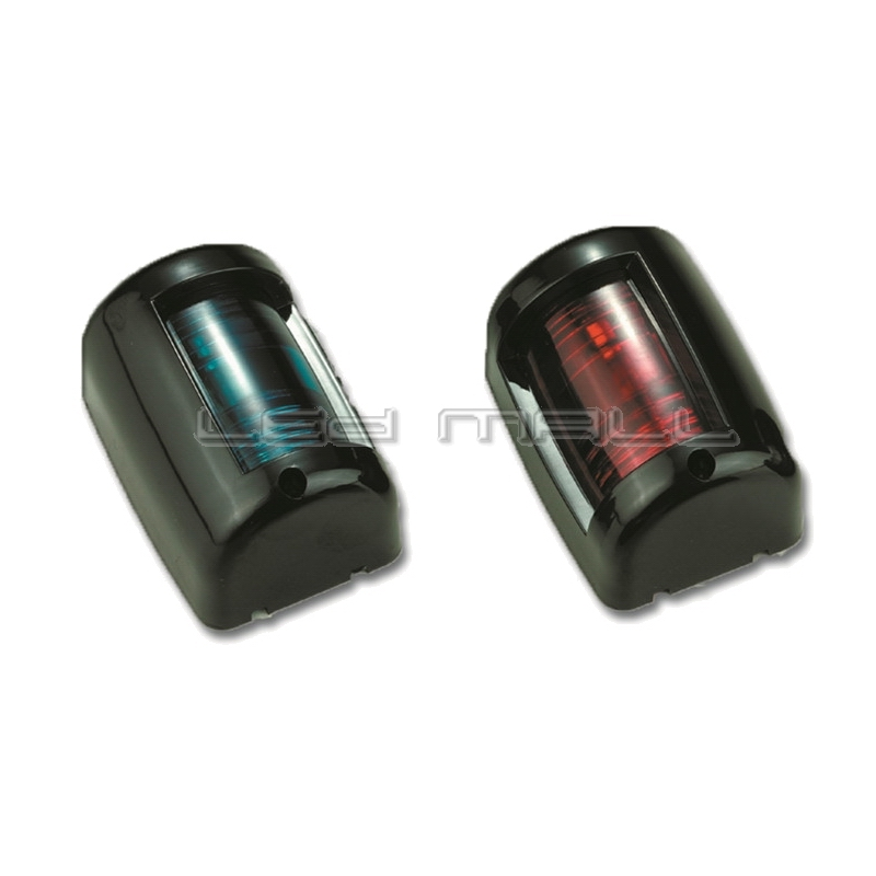 Marine Boat Yacht 12V Port/Starboard LED Navigation Lights Red and Green Pair