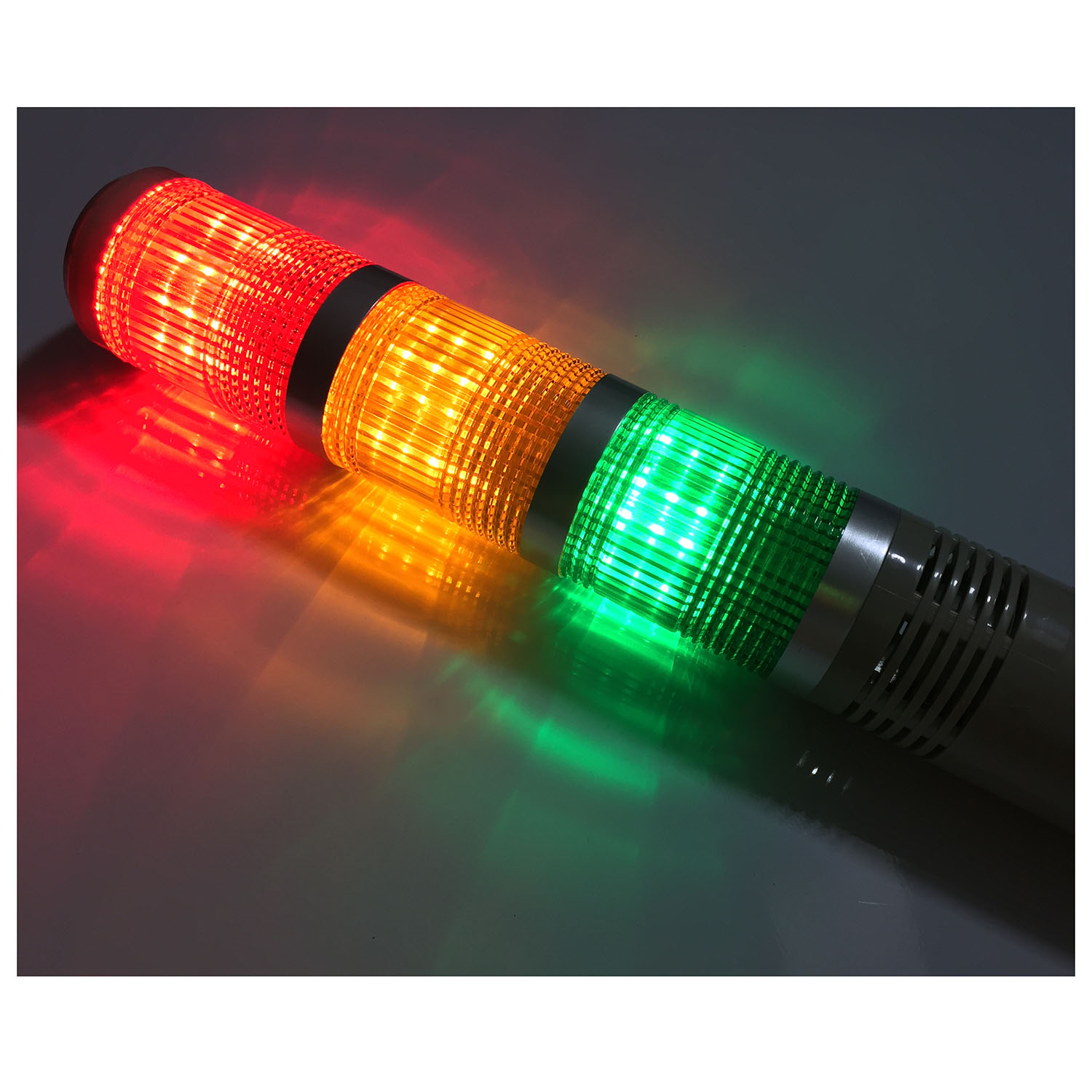 AC/DC 24V Red Green Yellow LED Lamp Industrial Tower Signal Light