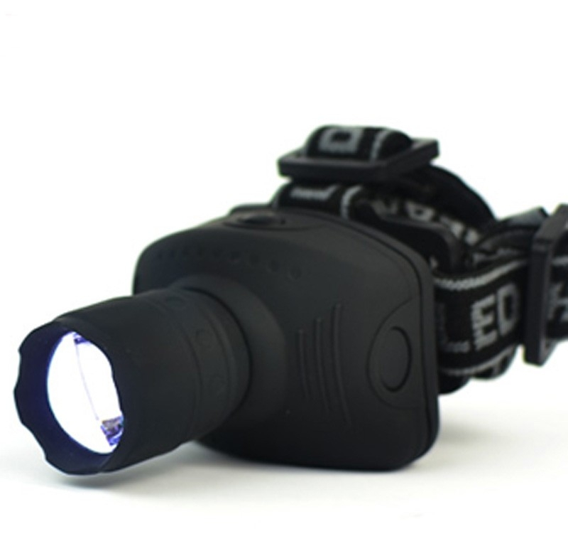 600 Lumens LED Headlight Headlamp Flashlight Frontal Lantern Zoomable Head Torch Light To Bike For Camping Hunting Fishing