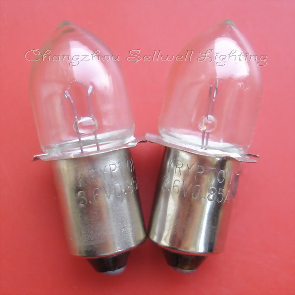 Krypton bulb 3.6v 0.85a p13.5 s a716 high quality sellwell lighting