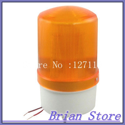 Industrial Yellow LED Rotating Warning Light Signal Indicator Lamp DC 24V