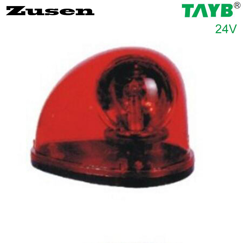 Zusen red led TB1201 24V  Traffic barrier lights Signal Warning Light LED Lamp Magnet bottom