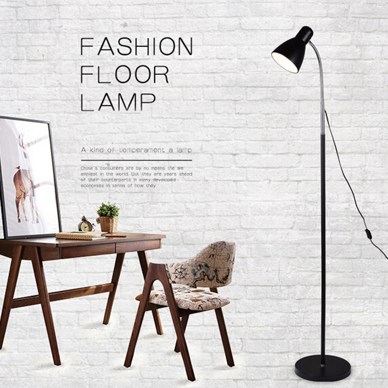 Modern Nordic LED Floor Lamp Energy Saving Floor Light for Sitting Living Room Study Bedside Reading Piano Decor Lamp Fixture