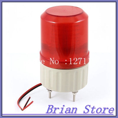 Industrial Signal Indicator Lamp DC 24V Rotating Flashlight Red Light Beacon