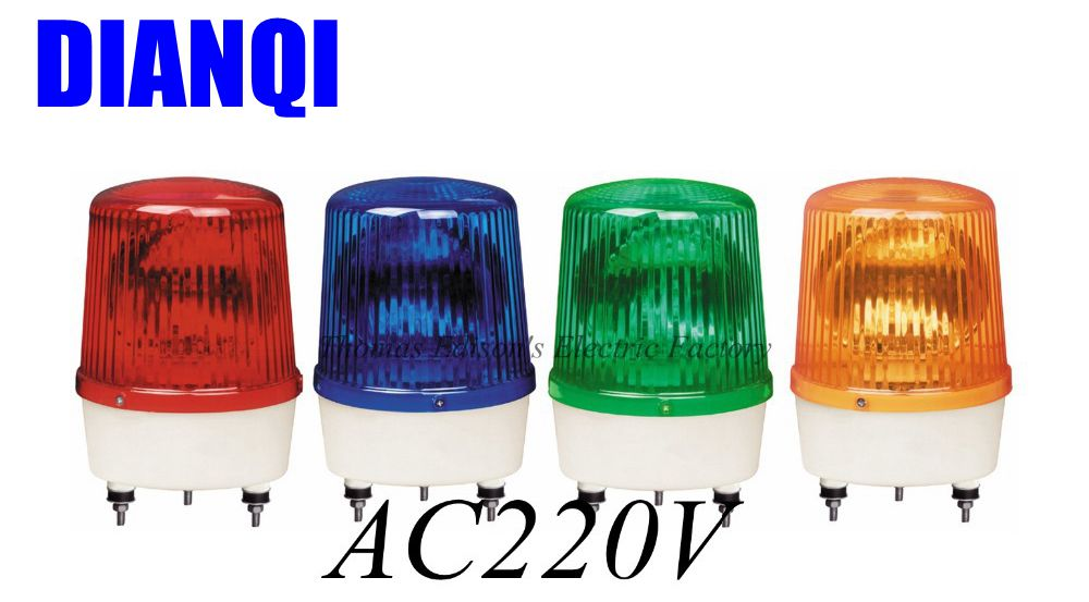 AC220V Revolving Warning Light Construction engineering signals LTE-1161