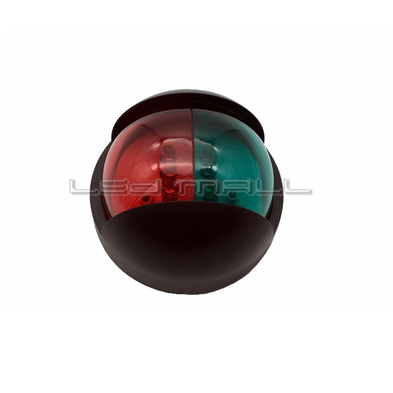 LED Bi-Color Combination Bow Navigation Light for Boats - 1 Mile