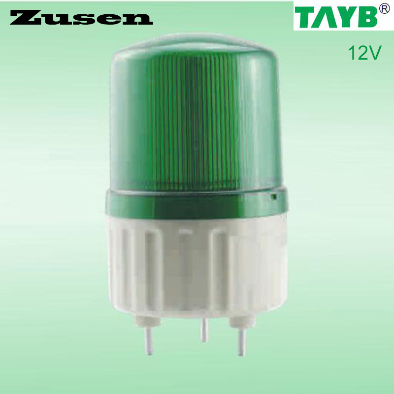 Zusen TB1081J 24V Alarm rolling Signal Warn Warning Siren green led Lamp with buzzer(TB1081J-G-24V)