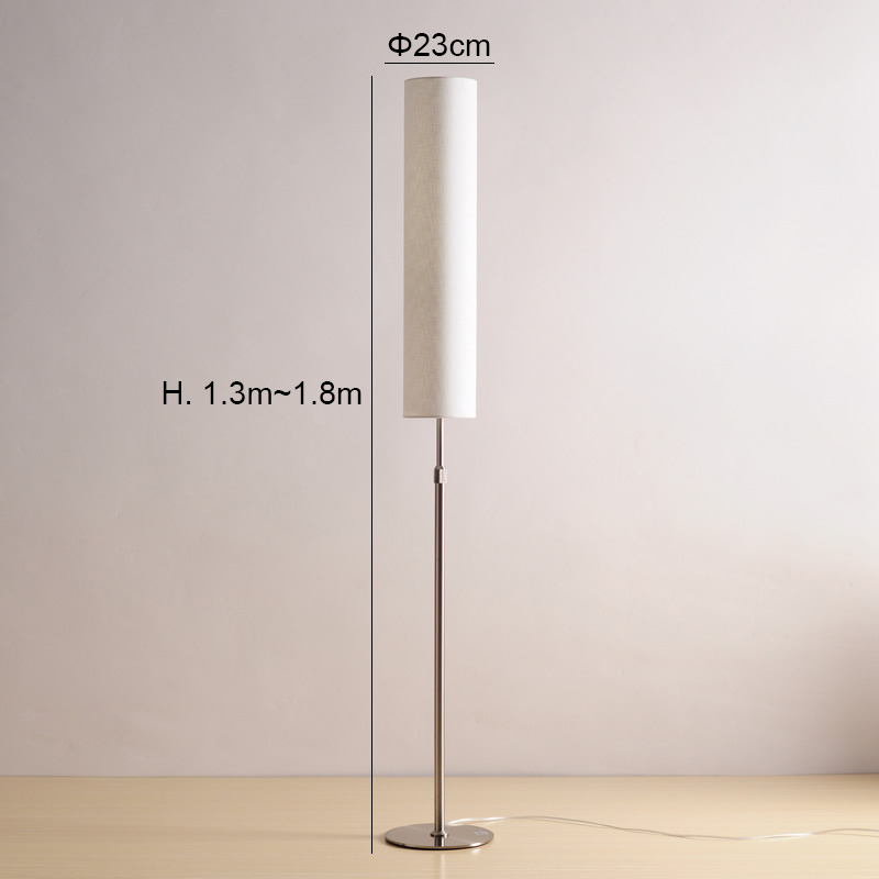Modern Floor Lamp Minimalist Stainless Steel Standing Lamps for Living room Reading Lighting Loft Iron Floor light E27 LED bulb