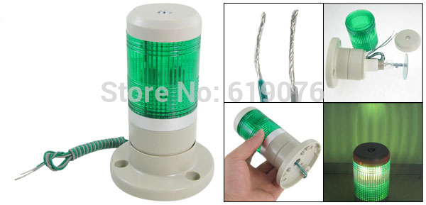 DC24V steady Industrial Green Signal Tower Lamp Warning Stack Lightt Alarm Apparatus
