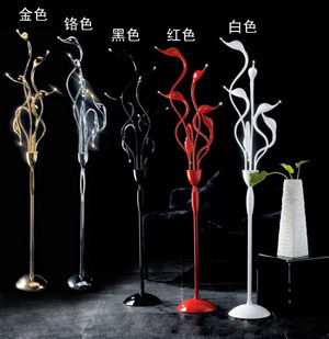 new floor lamp Swan 6 days Light floor lamp bedroom lamp living room lights study lamp floor light