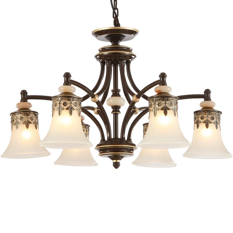 Retro Foyer Lighting : Classical foyer chandeliers living room glass chandelier