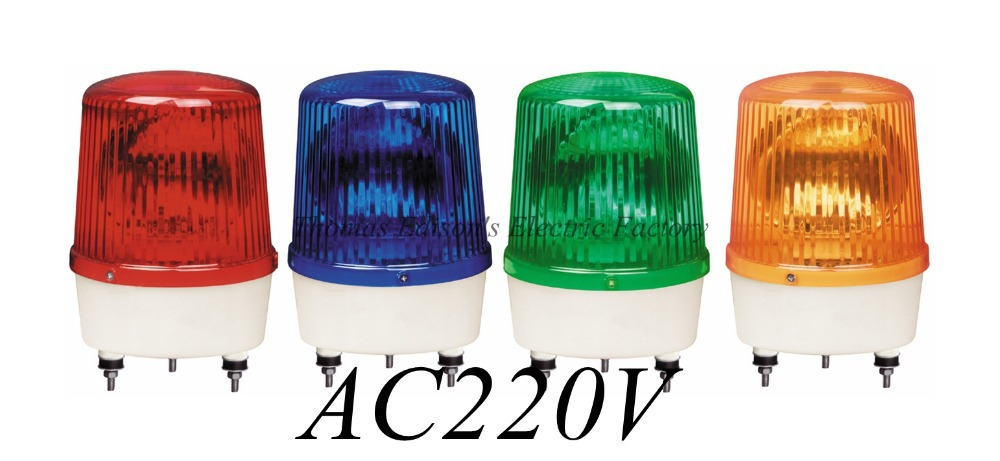 DMWD AC220V Revolving Warning Light Construction engineering signals LTE-1161 indicator light