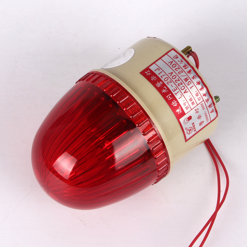 LTE-2071 Warning Light AC 110V / AC220V / DC24V/ DC12V Red Without Voice Signal Light