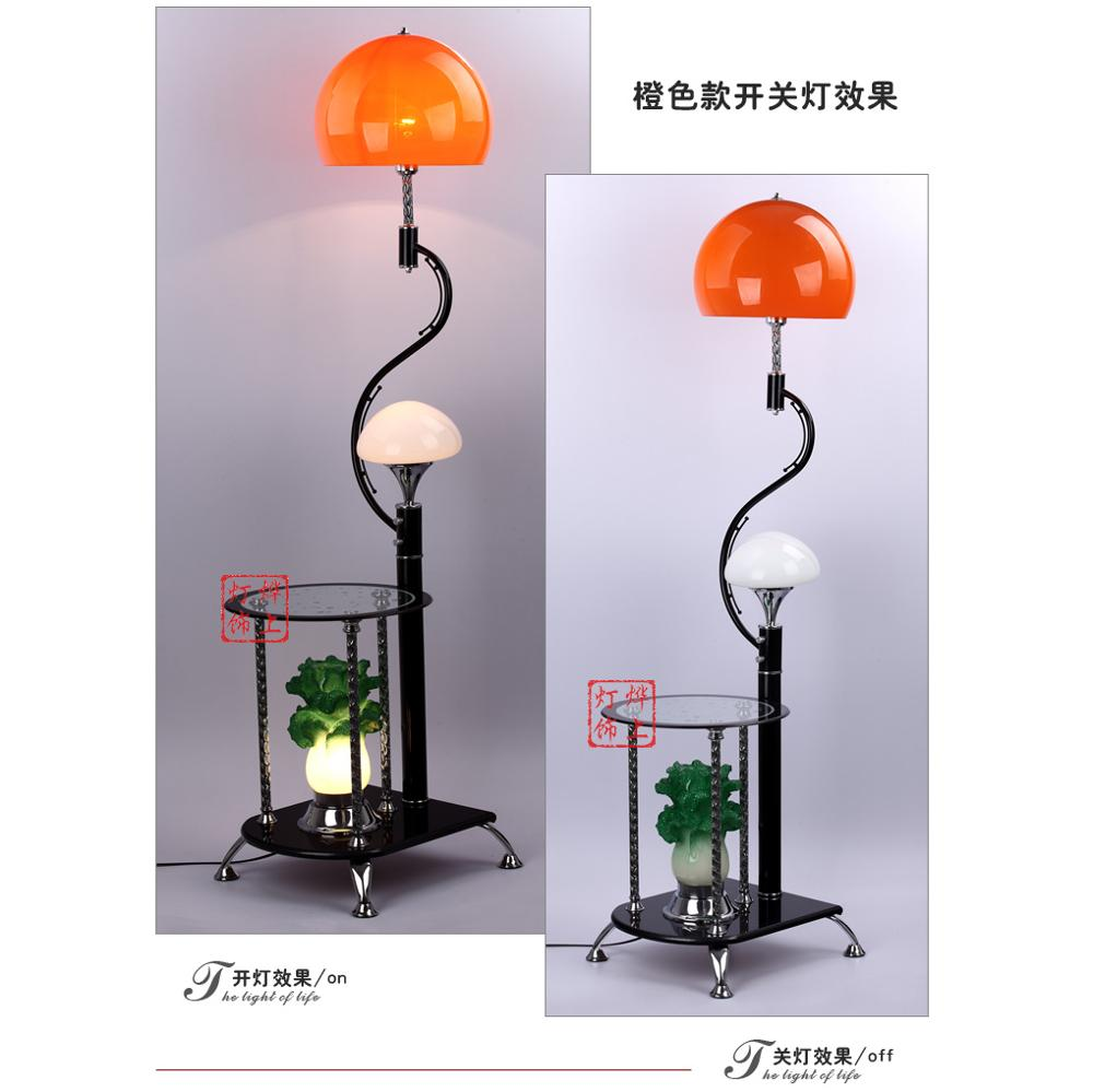 decoration lamp several  A1 on the modern Chinese cabbage with tea table lamp angle new financial prosperity