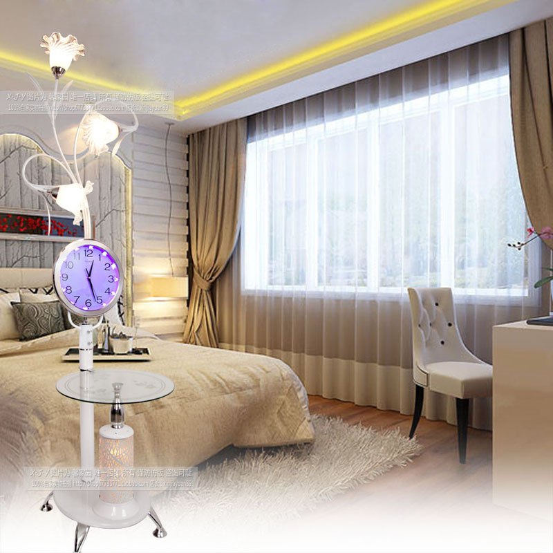 Modern with a table of coffee table floor lamp fashion creative living room bedroom floor lamp ZL1 morning ya73