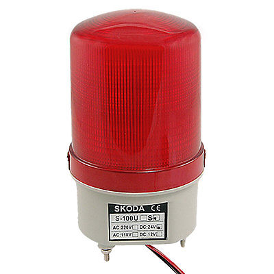 Industrial Red Flash LED Signal Tower Stack Indicator Light Bulb DC 24V