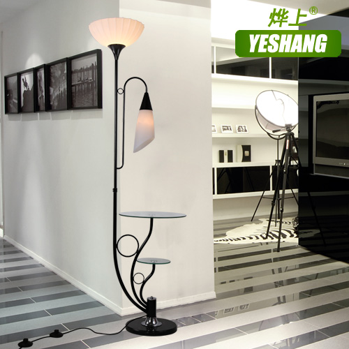 the modern minimalist living double table lamp black and white fashion creative lighting the new floor lamp