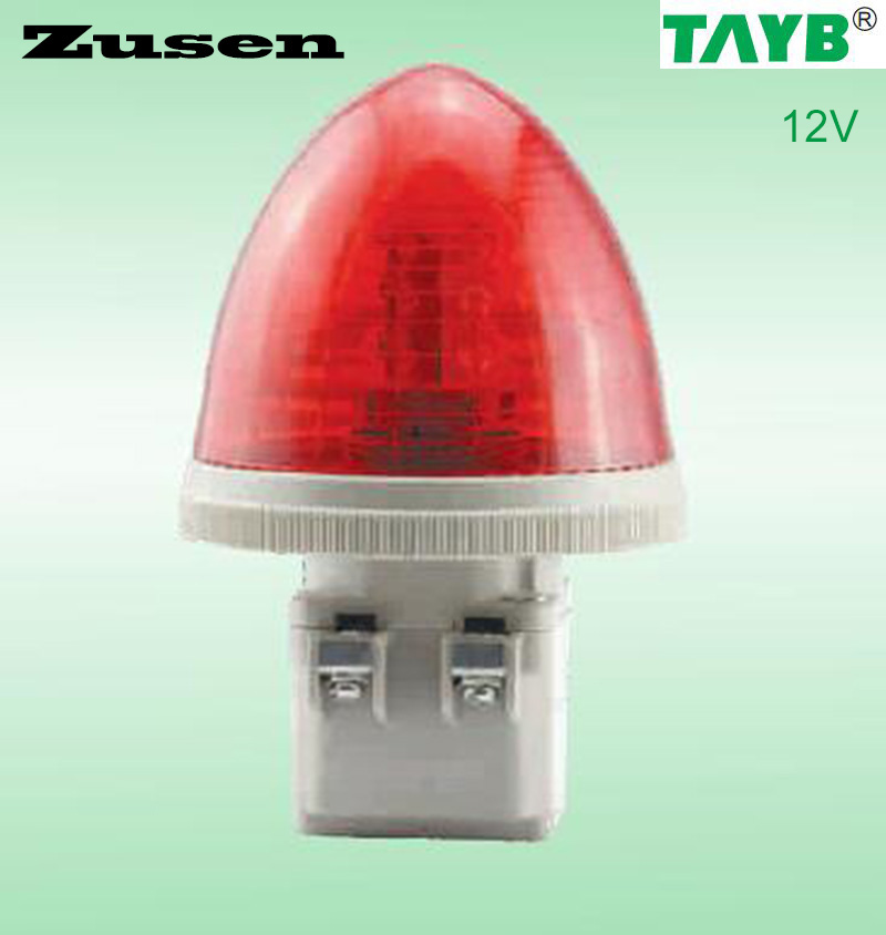 Zusen TB30-R-12V RED  Strobe Signal Warning Light LED Lamp small Light