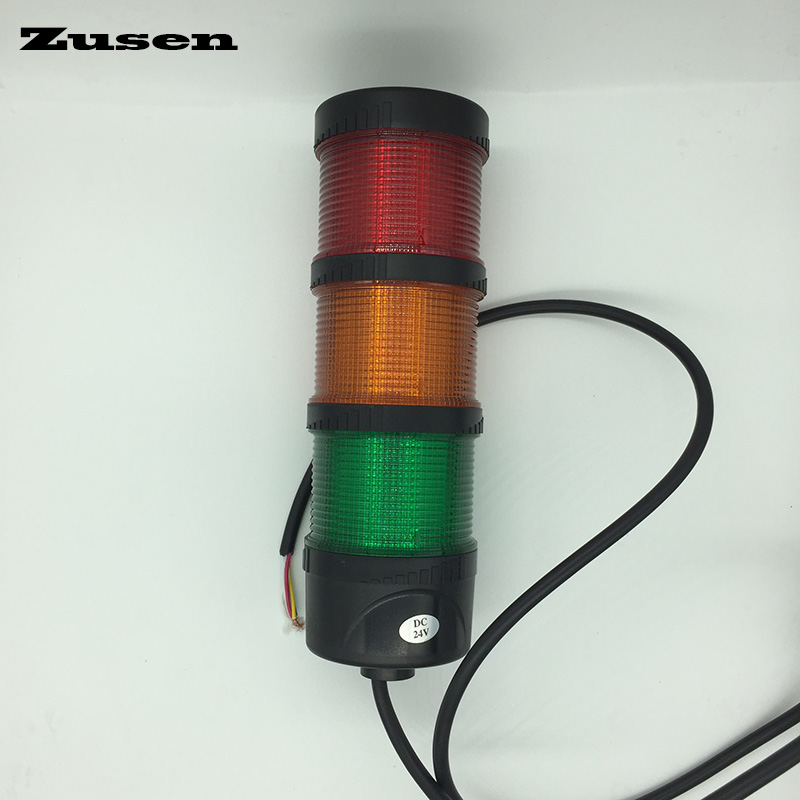 Zusen 70mm TB70-3T-D 220v RYG color led signal tower light