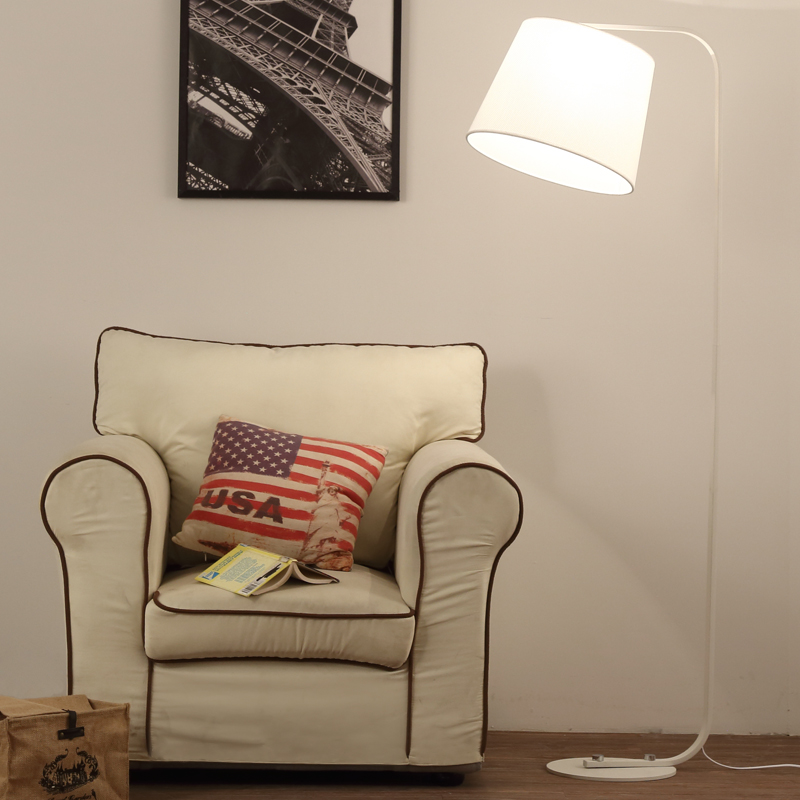 A1 Nordic fashion creative warm bedroom bedside lamp floor lamp iron simple modern personality study room Floor lights