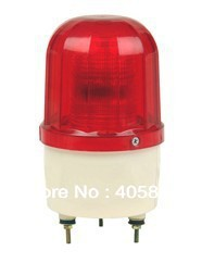LED strobe warning light LTE-5101Without sound Bolt fixed type used for crane / construction projects