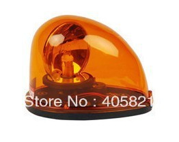 Magnet type Rotary warning light LTD-1201J with buzzer 100dB