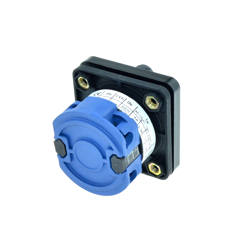 Latching Ui 660V Ith 20A 4Terminals 2Positions 3Positions ON-OFF 5 Action Type Cam Combination Changeover Switch Rotary Switches