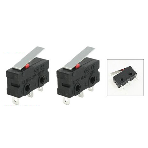 Promotion! 10 Pcs AC SPDT 1NO 1NC Short Straight Hinge Lever Mini Micro Switch