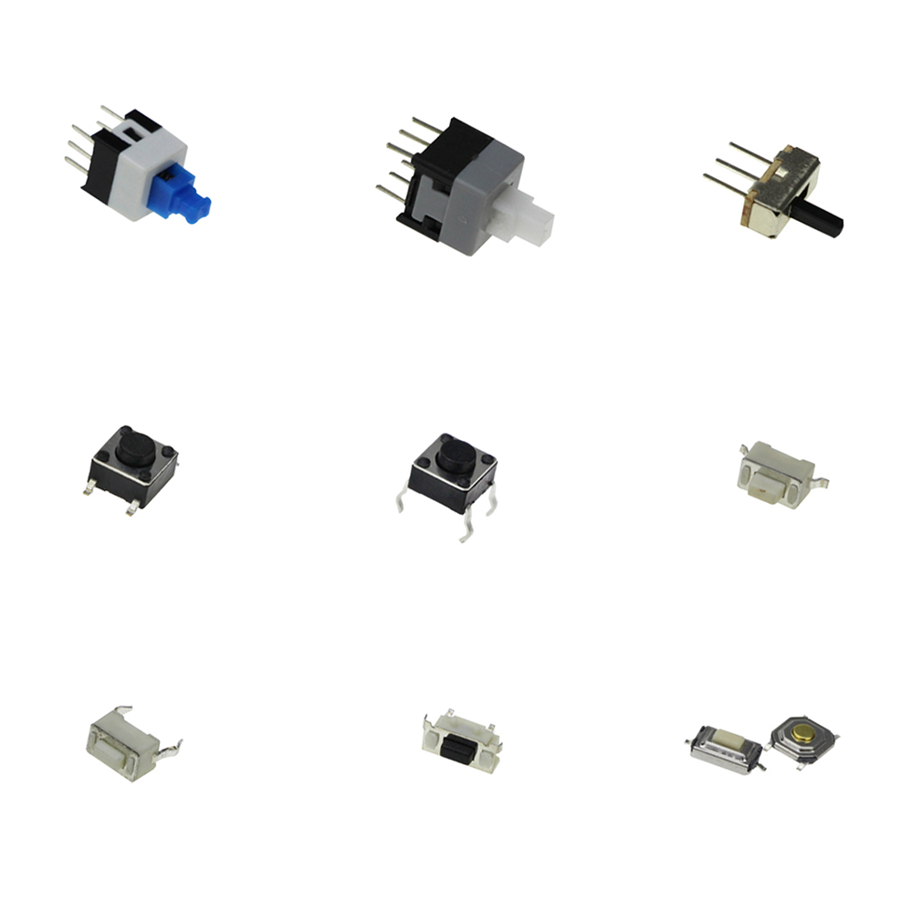 Smart Electronics 10 Kinds of Tactile Switches Push Button SMD Tact Switch Switch 100pcs