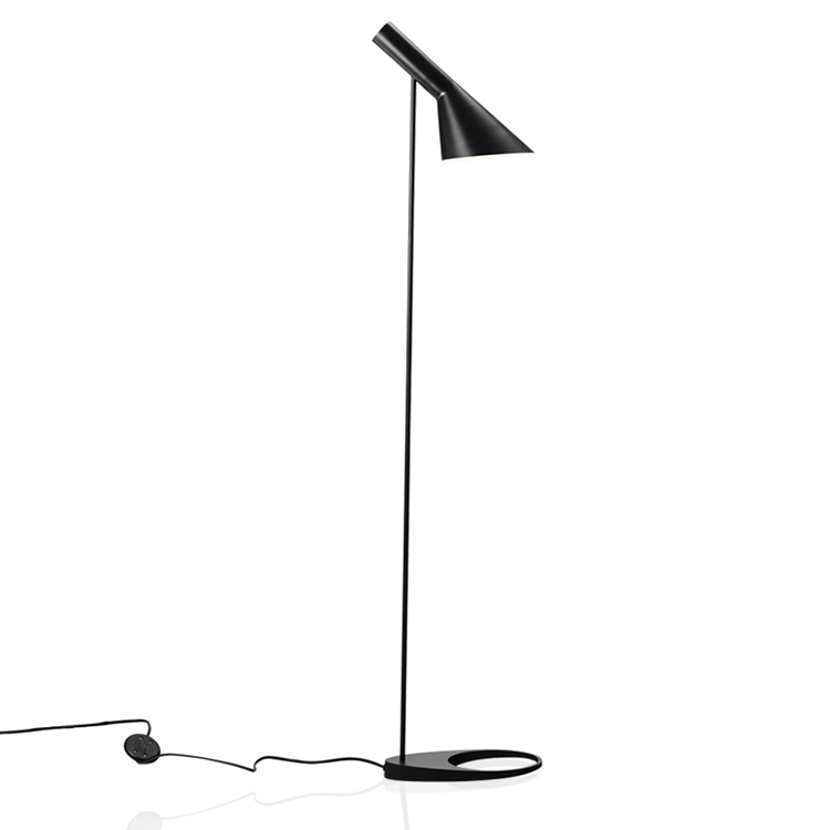 AJ-Floor-Lamp-E27-Black-White-Arne-Jacobsen-Louis-Poulsen-Metal-Stand-Floor-Lights-For-Living (2)