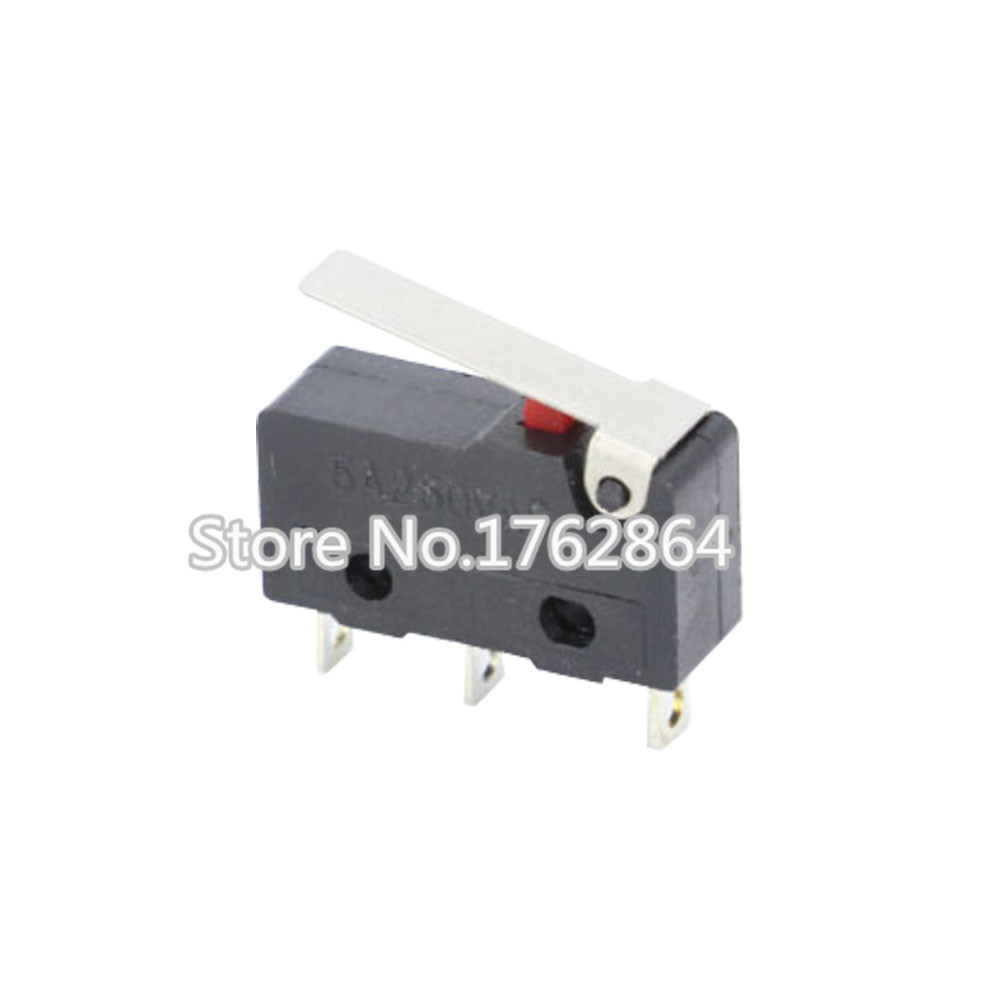 10PCS Limit Switch  3 Pin High quality All New 5A 250V KW11-3Z Micro Switch Factory direct sale Laser Machine Micro Limit Sensor